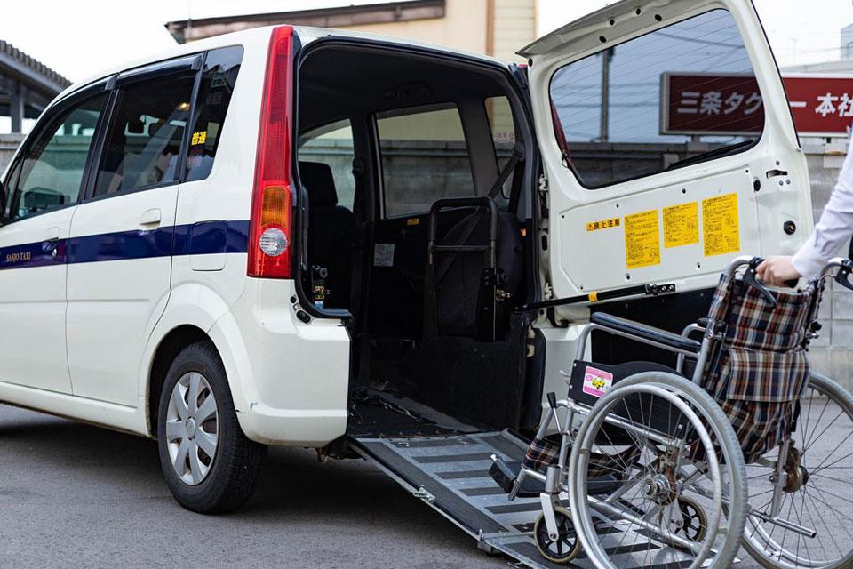 事業案内 福祉タクシー